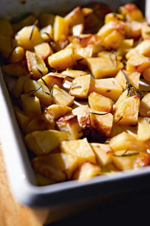 What's your method for cooking roast potatoes?