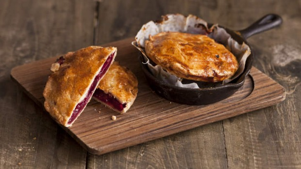 Spanish style ... Basque cherry pie.