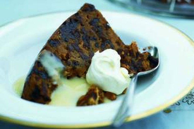 "Steamed Christmas pudding <a href=""http://www.goodfood.com.au/recipes/steamed-christmas-pudding-20130725-2qlgl"" ..."