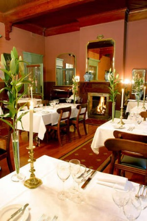 Queenscliff Hotel dining room.