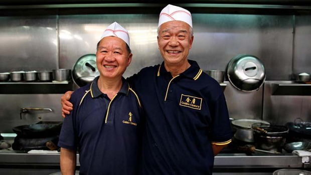 Putting the excellent in XO Pippies … Golden Century's head chef, Hung Leung, right, with the chef who replaces ...