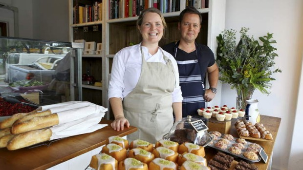 Alison and Brett Hutley have opened a new cafe, Botanica Real Food.