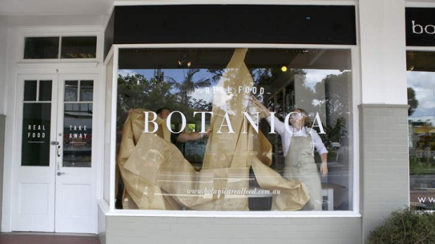 The unveiling ... Botanica Real Food in Red Hill.