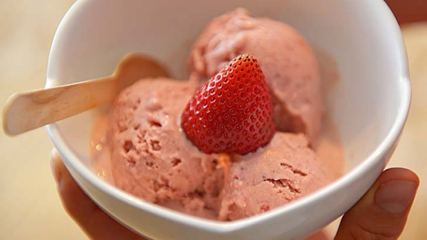 No hidden nasties: Arabella Forge shares her tips on making ice-cream at home.