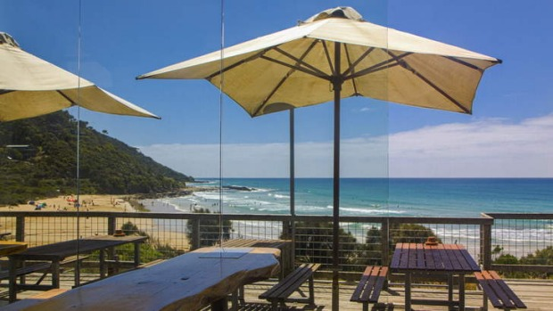 The Wye Beach Hotel has a 180-degree view.