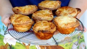 Kate Gibbs' beef and beer pies.