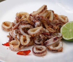 Former <i>MasterChef</i> winner Adam Liaw nominates salt-and-pepper squid as a national dish.
