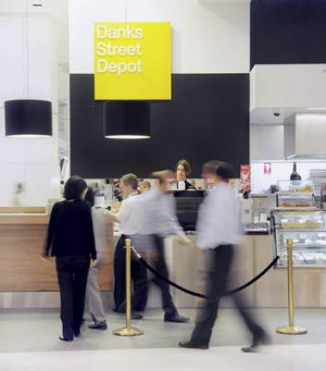 Get your fix ... Danks Street Depot's Sydney Airport spin-off is staying open.