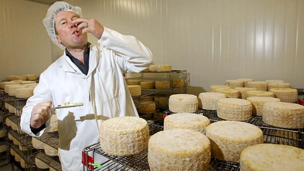 'Very bad news' ... Jindi cheese CEO Franck Beaurain.