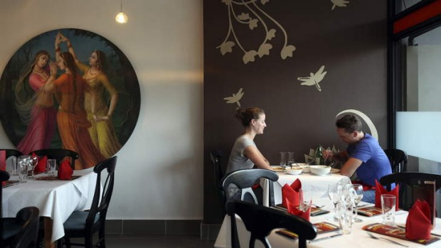 Artistic additions ... Cape Comorin has a new look but retains its crowd-pleasing menu.