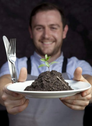 Pope Joan waiter Neil Photo dishes up the dirt.