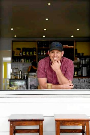 Brett Roland, owner of the soon-to-be renamed Little Brew on Latrobe Terrace, Paddington.
