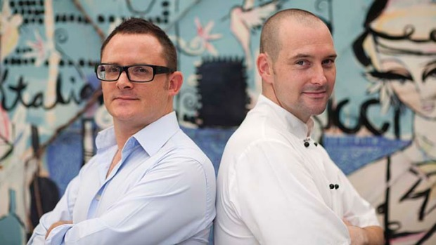 Bucci goes casual ... Spencer Patrick and Shaun Malone are opening the new venture.