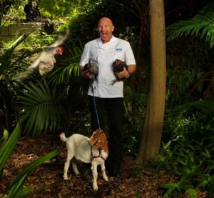 Nature's bounty … Matt Moran and friends. Moran will lead a team of chefs to prepare food at the TEDxSydney event.