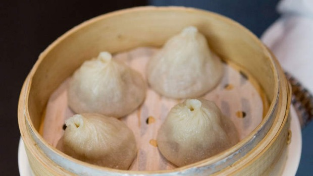 Man Tong's xiao long bao are a textbook example of pleating perfection.