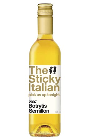 Huon Hooke - Two Italian Boys The Sticky Botrytis Semillon, Riverna 2009