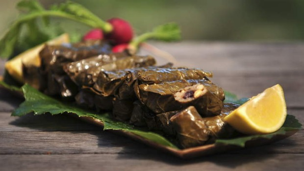 Dolmades, better homemade.