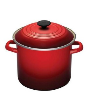 Wise investment ... a Le Creuset stockpot is expensive but long-lasting.