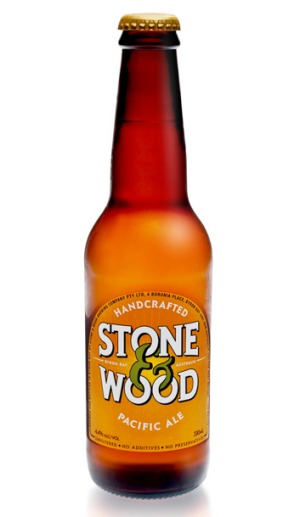 Stone & Wood's Pacific Ale is neither filtered or pasteurised.