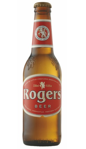 Little Creatures' Rogers is a brilliant 'session beer'.