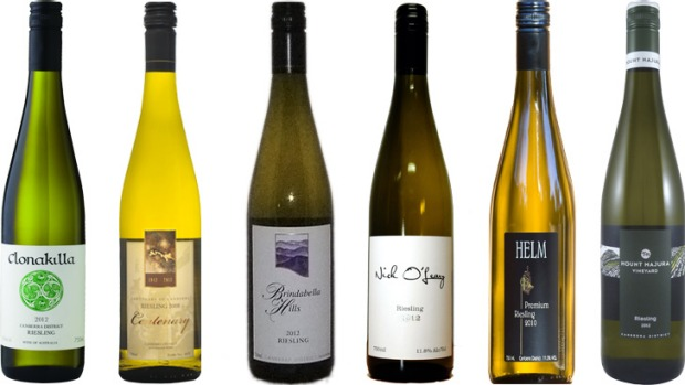 The current vintages of some of the Canberra district rieslings that aged beautifully: Clonakilla, Centenary, ...