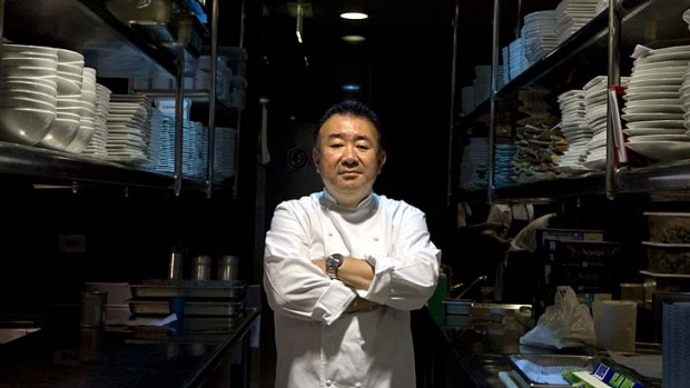 Ranked 11th in Asia ... Tetsuya's Singapore restaurant, Waku Ghin.