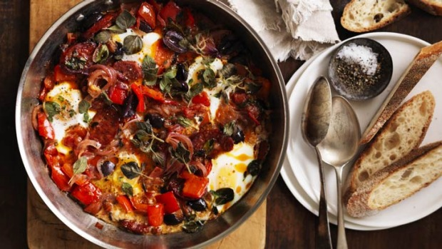 There's nothing wrong with eggs for dinner; especially when they look (and taste) like these.