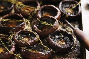 Thyme roasted mushrooms.