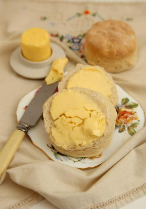 Phillippa Grogan's butter recipe; everything tastes better with good butter.