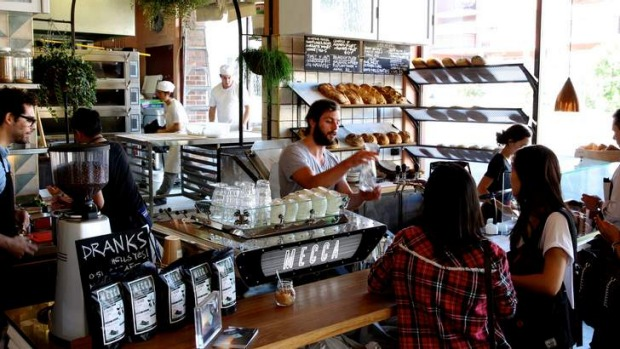 It's a bakery first, coffee bar second and cafe third.