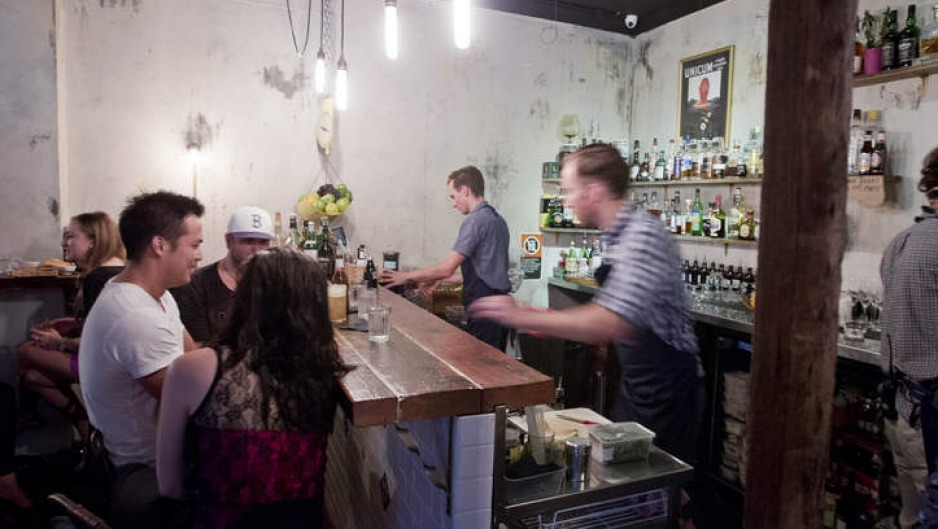 Easy drinking: Bulletin Place feels more like someone's home than a bar.