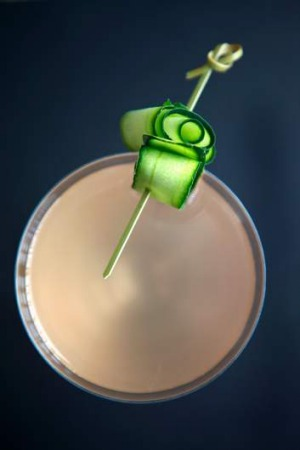 Do something different with that end-of-summer produce; Matt Wilkinson's cucumber cocktail.