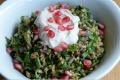 Cypriot grain salad.