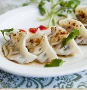 Vietnamese cuisine ... The handmade 'pretty dumplings' from Nourishing Quarter in Redfern.