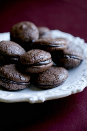 Stephanie Alexander's chocolate macaroons.