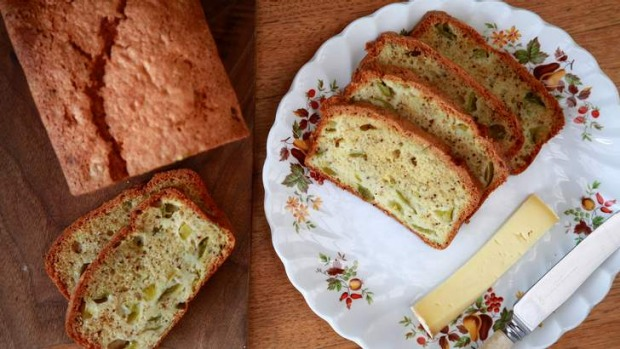 An end-of-summer twist on carrot cake; use up those green tomatoes.