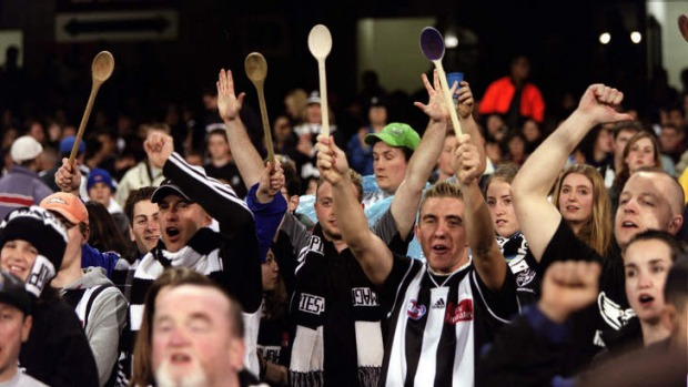 No love lost; Collingwood fans will have a new way to demonstrate their hate for all-things Carlton.