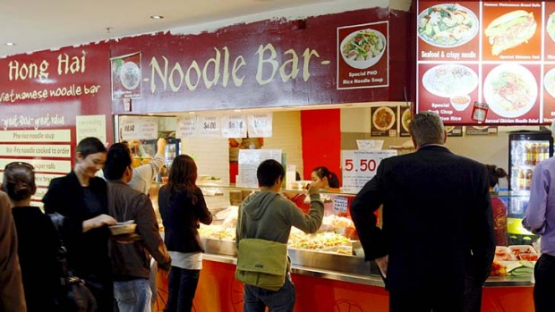 Grubbiest eatery in Sydney: The now defunct Hong Hai Noodle Bar.