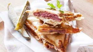 The Reuben Jaffle.