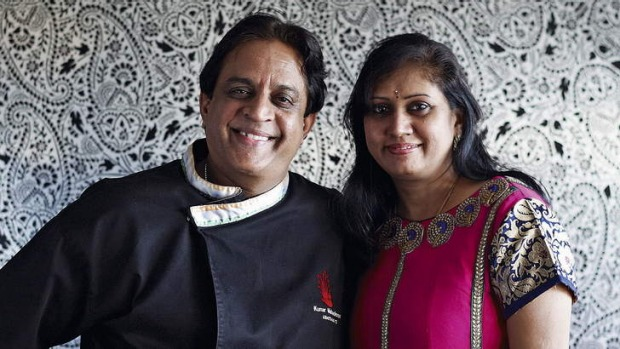 Course of true love: Kumar and Suba Mahadevan.