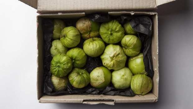 Tomatillos make a lovely refreshing verde condiment perfect with meat or seafood.