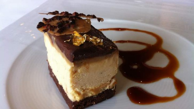 Iceworks' peanut butter parfait has good flavour balance and texture.
