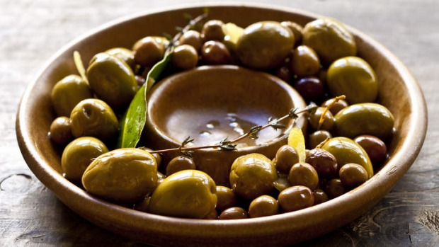 Olives are a simple and delicious way to get a party started.