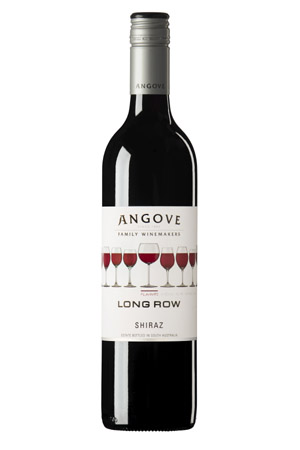 Huon Hooke - Angove Long Road Shiraz, South Australia 2010   Long Row Shiraz.jpg