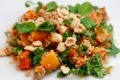 Arabella Forge's quinoa salad with pumpkin and hazelnuts.