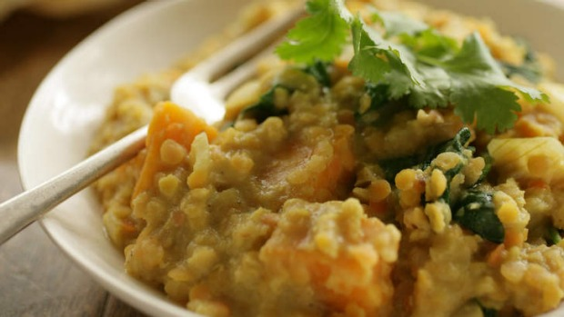 This dahl is perfect for vegetarians who want to eat in a hurry.