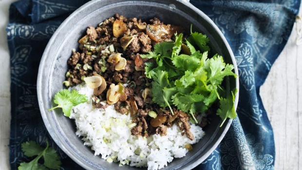 Stir-fried cumin lamb.