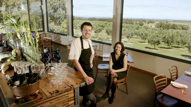 Aaron and Astrid Turner at their Drysdale restaurant.