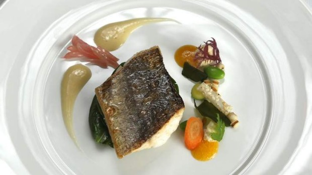 Timeless: Like all of the dishes at Jacques Reymond, the King George whiting epitomises flavour, not fashion.