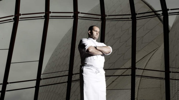 "No bistro: ""Bennelong is what the people want it to be,"" says Guillaume Brahimi."